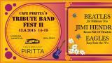 Tribute band festia vietetään Cafe Pirittassa 13.6