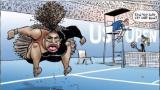 Serena, räjähtävällä ässällä