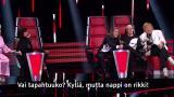 The Voice of Finlandin tekniikka pettää: Tonin ja Sipen tuoli hajoaa kriittisellä hetkellä! – Valmentajakollega rientää apuun