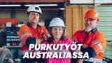 Purkutyöt Australiassa