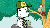 9 - Jippe menee kävelylle metsään