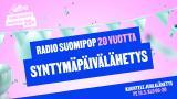 Radio Suomipop 20 vuotta - Syntymäpäivälähetys