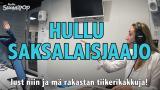 Aamulypsy-video: Hullu saksalaisjaajo