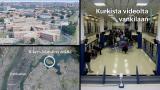 Animaatio- ja videokuvat kurkistavat Rikersin ympäristöön ja sisälle