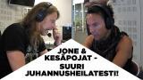 Jone Nikula ja Jussi69 tekivät juhannusheilatestit - kuuntele erikoiset lopputulokset!