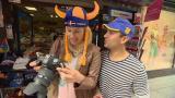 Laura ja Antonio turisteina Tukholmassa