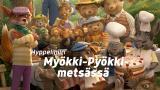 Hyppelihiiri Myökki-Pyökki-metsässä (S)