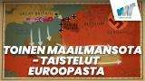 Toinen maailmansota - taistelut Euroopasta