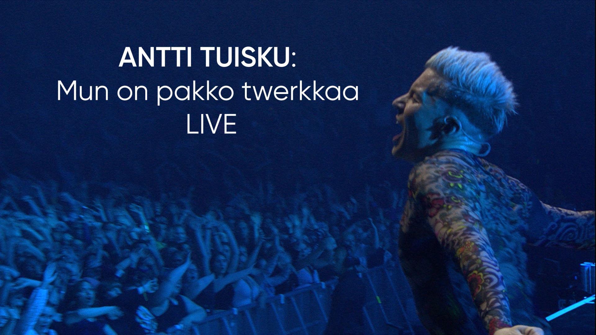Antti Tuisku Twerkkaa