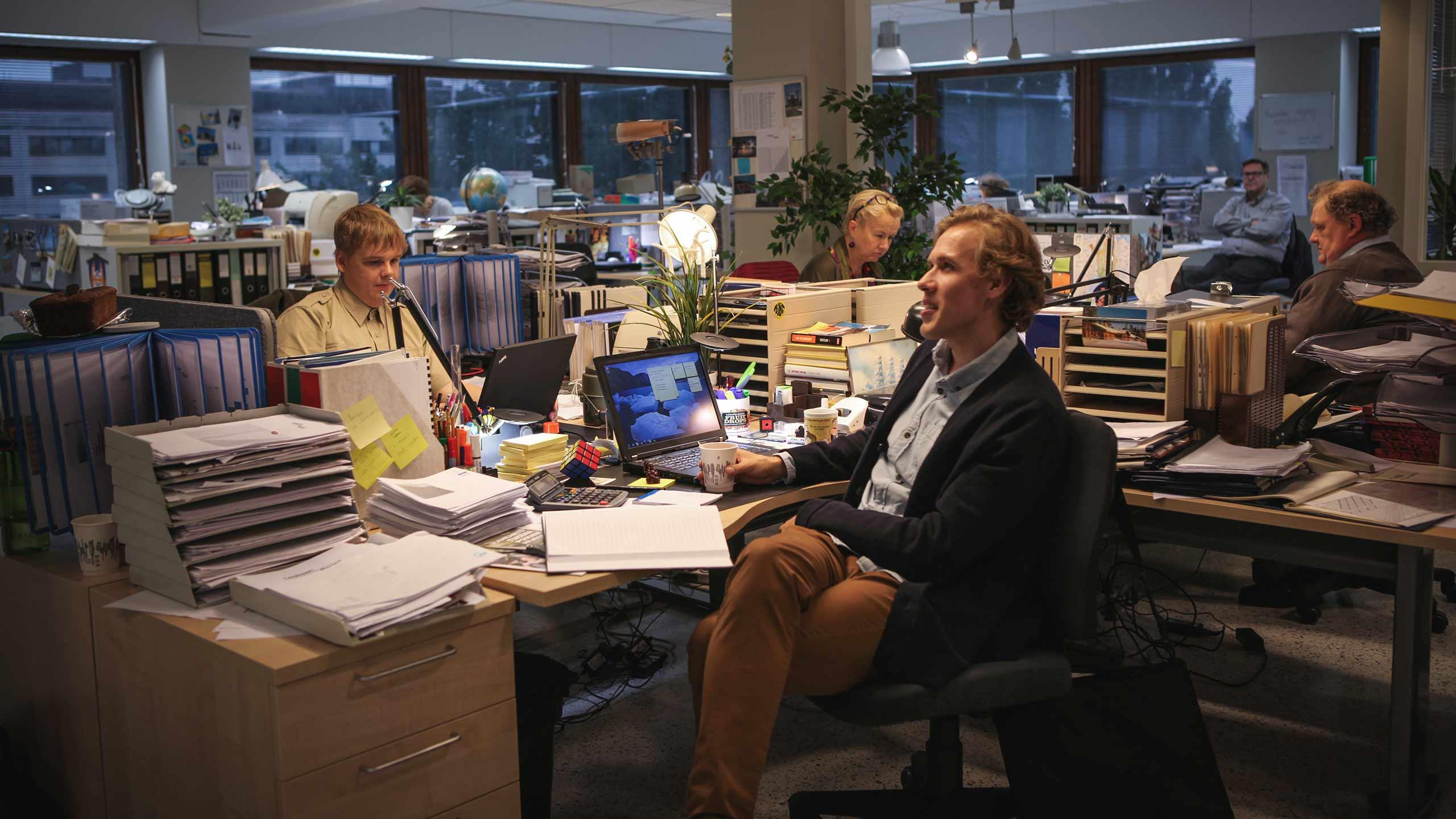 Suomen Konttori löytyy Riihimäeltä - sarja saa ensi-iltansa tänään verkossa